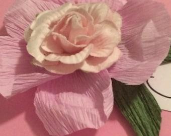 Paper Flower Place Card Holder - set of 50