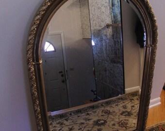 Vintage Victorian style wall mirror