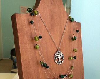 Necklace Display, Jewelery Bust, Jewelry Display, Jewelry Stand, Necklace Stand, Necklace Bust, Necklace Holder, Wood Jewelry Display