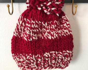 Game day knitted hat