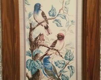 Vintage Birds Art