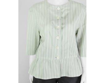 Jil Sander blouse with peplum