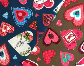 Loveletter Needlecord Fabric - 60 Inches Wide
