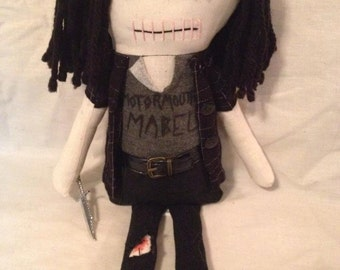 Tara - Inspired by TWD - Creepy n Cute Zombie Doll - (P)