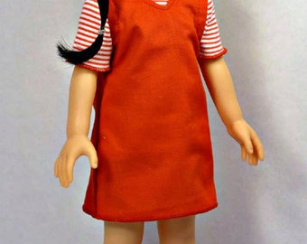 V Neck Jumper Pattern Bundle fits Les Cheries, Hearts for Hearts Girls, Groovy Girls, 13-14 in tall girl dolls.