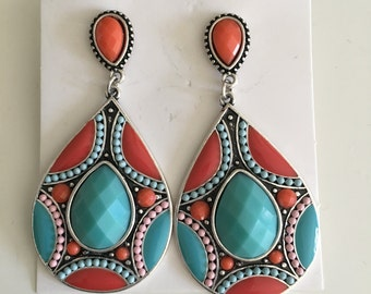 beautiful boho earring, bohemian jewelry