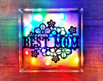 Best Mom, Best Mom Gift, Best Mom Ever, Unique Mothers Day Gift, Decorative Lights, Personalized Mothers Day Gift, Mothers Day Gift Ideas