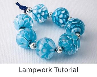 Lampwork Tutorial - Dahlia Beads