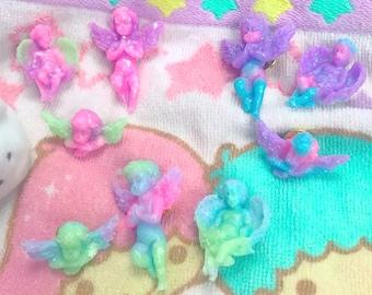 Dreamy Pastel Angels Pin Set