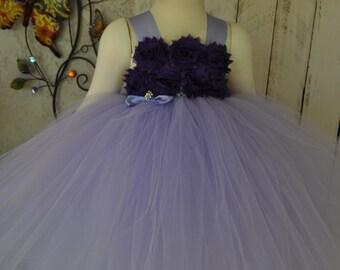 Lavender/ Purple Flower Girl Dress, Girls Lavender Dress, Infant Purple Lavender Dress, Baby Lavender Dress, Toddler Lavender Purple Dress