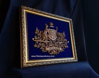 Coat of arms of Australia,The emblem of Australia