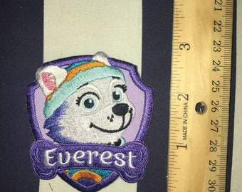 Ready to Ship Paw patrol Everest patch