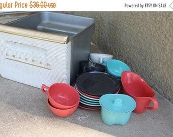 SALE SALE SALE Vintage Crisper Refrigerator Drawer Metal Kitchen Creative Display Storage Organization Mid Century Retro