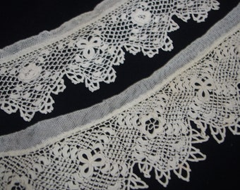Vintage Ornate Lace Trim: Shamrocks & Roses