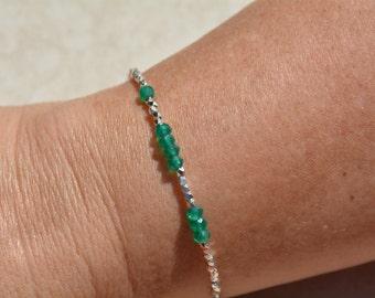 Personalized Custom Bracelet, 143 Bracelet, I Love You Bracelet, Mothers Day Gift Under 50, Secret Code Bracelet, Beaded Gemstone Bracelet