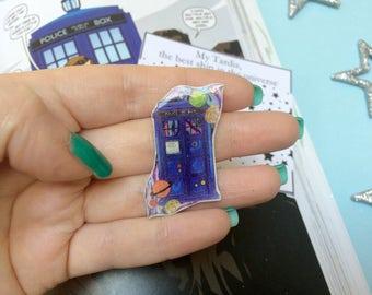 TARDIS - Pin - Doctor Who - Pin