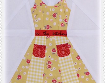 Grandmother's Apron, a paper piecing pattern