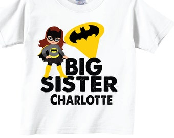 I'm the Big Sister Personalized T-shirts and Shirts