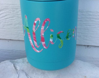 Custom Insulated Can Cooler
