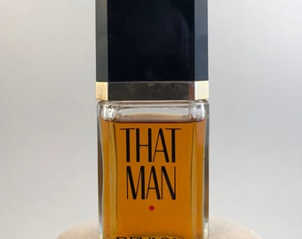 Vintage Revlon That Man After Shave.  1.7 fl oz Splash