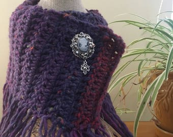 Uniquely crocheted neckwarmer made to keep you or your loved ones warm this holiday season!