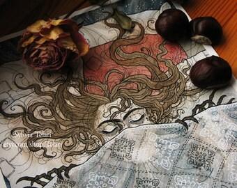 Sleeping Centipede - Print