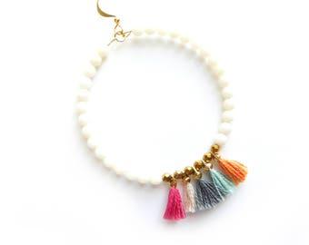 Shay Earrings in Cream
