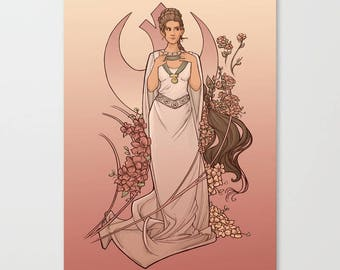 The Alderaan Rose Small Print (Item 03-391-AA)