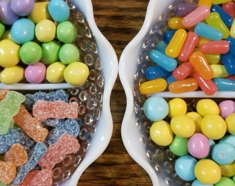Fenton Hobnail Milk Glass Candy/Relish Dish