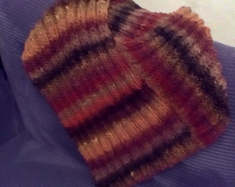 Chunky wool capelet