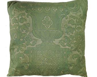 Vintage 19th Century Italian Fortuny Pillow