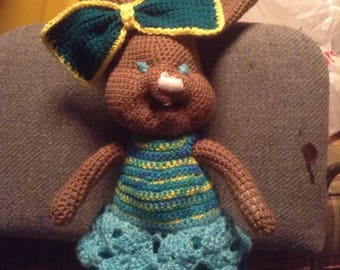 Amigurumi Bunny in a Dress