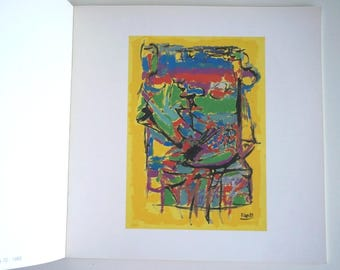 Italian Art Exhibition Catalogue Paolo Lapi 1991, vintage art book, modern art