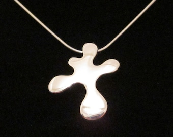 Original Splat - Sterling Silver Pendant