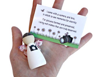 Photographer Fairy | Gift for photography lovers | Photographer Gifts | Thank you present for photographer gift | Gifts for photographer