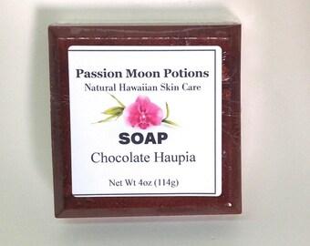 Chocolate Haupia Soap