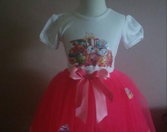 Super Cute Shopkin ribbon tutu outfit