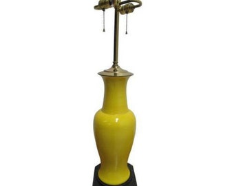Vintage Mid Century Chinese Chippendale Table lamp Lighting Bumble bee