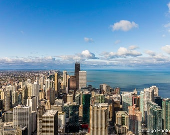Chicago Skyline | Chicago Affordable Wall Art | Chicago Photography | Chicago Photo | Chicago Color Photography | Fine Art Photography |