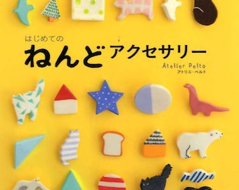 My First Clay Accessories by Atelier Pelto - Japanese Craft Book