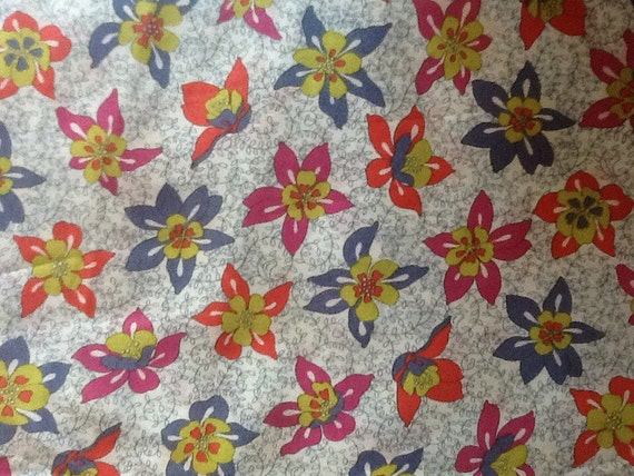 Tana lawn fabric from Liberty of London, Vintage