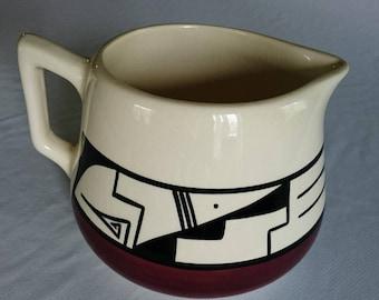 Mountain Glazed Pottery Pitcher #30 by Cayatineto