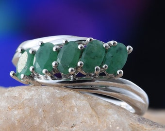 Emerald Ring - Size 8