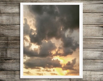 Midwest Sunset Limited Edition Wall Art