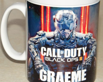 Personalised Call of Duty Black Ops 3 Mug