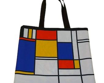 MONDRIAN anything printed tote bag Tote