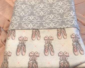 Ballerina shoes Pillowcase