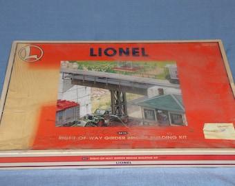 Lionel right-of-way girder bridge building kit