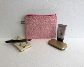 Makeup bag - cosmetic pouch- cosmetic bag - makeup pouch - travel accessory - travel pouch - toiletry pouch