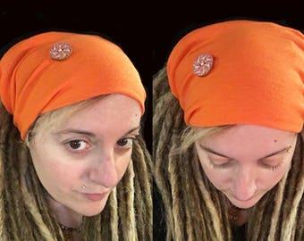 Dreadlocks tube, Mandala, Dreadlocks, Dread, dreadlocks, Dread Hat dreadlock headband, Tam hat, wide wrap, XXL, Microfiber, yoga